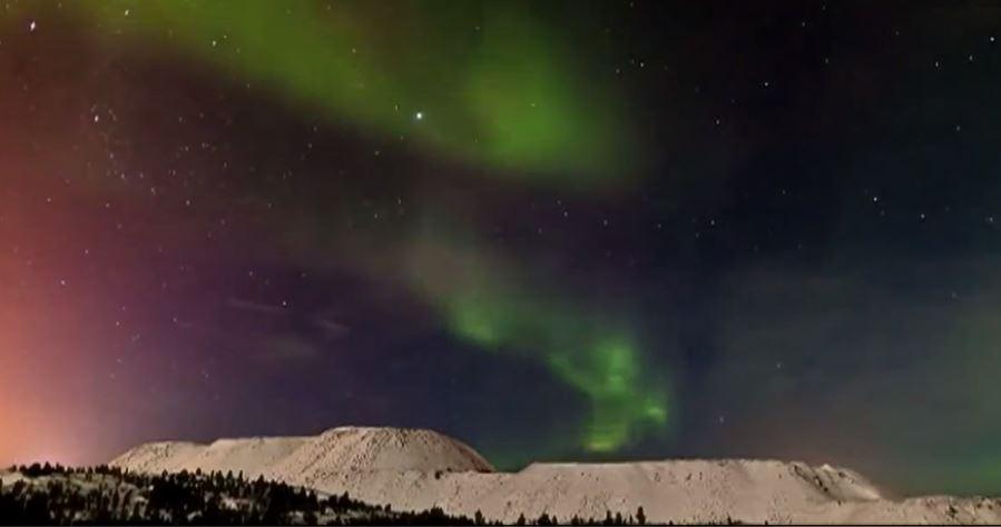 Nuit polaire en Russie