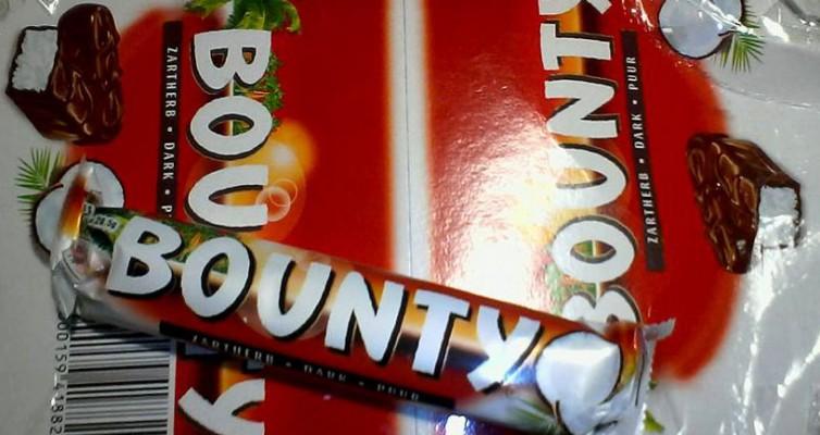 chocolat noir et noix de coco Bounty