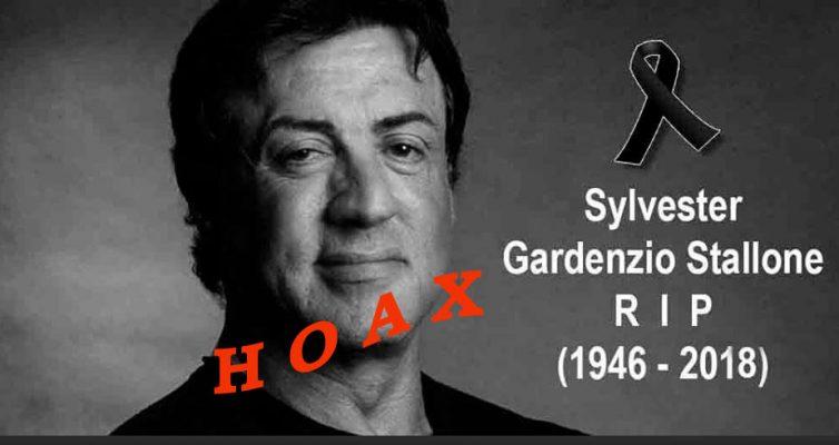 Stallone pas mort